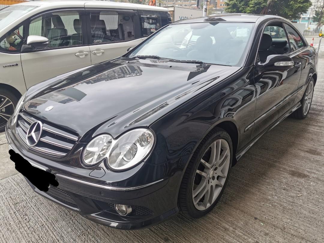Mercedes-Benz CLK200 Kompressor Coupe (A)