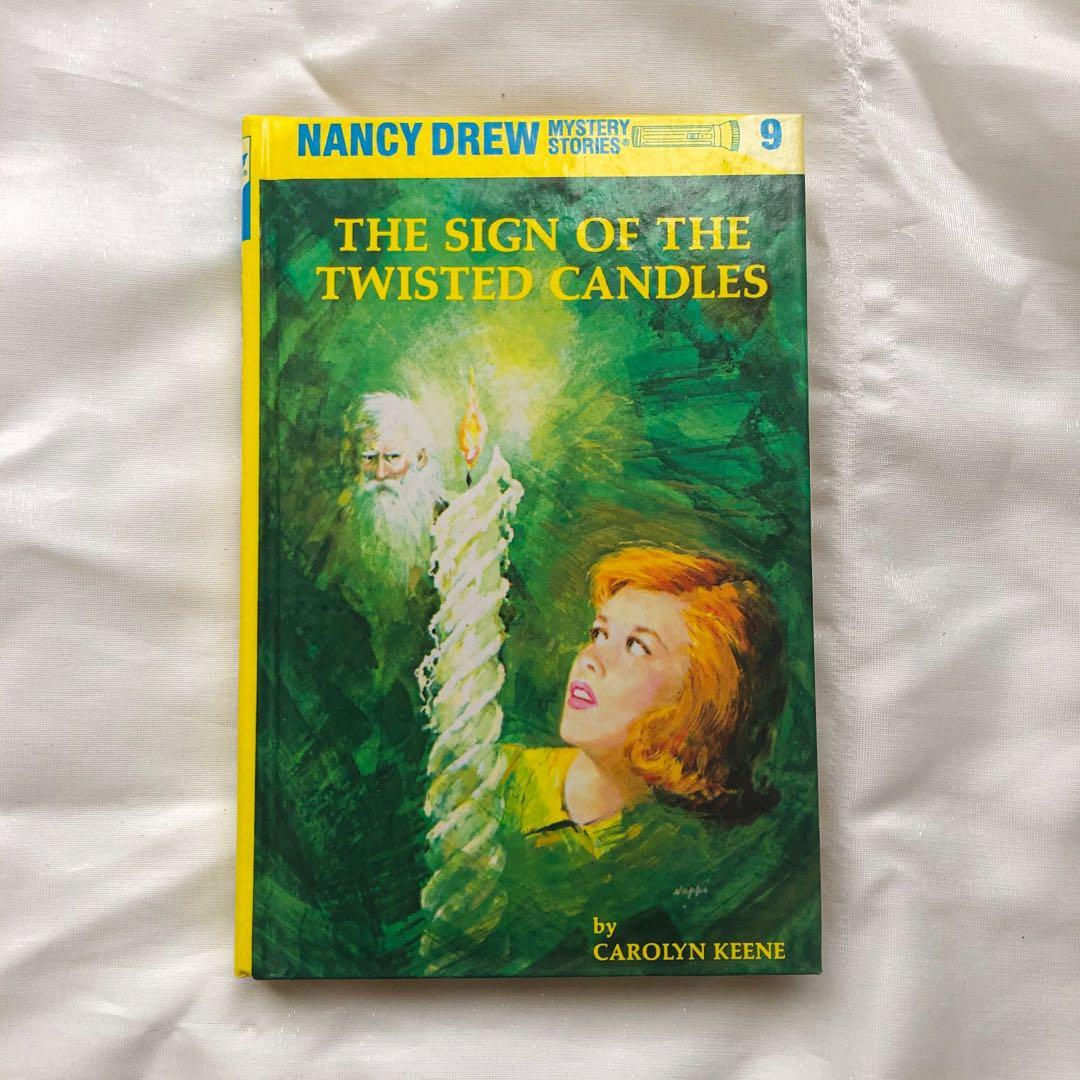 NANCY DREW: THE SIGN OF THE TWISTED CANDLES by Carolyn Keene (hardbound)
