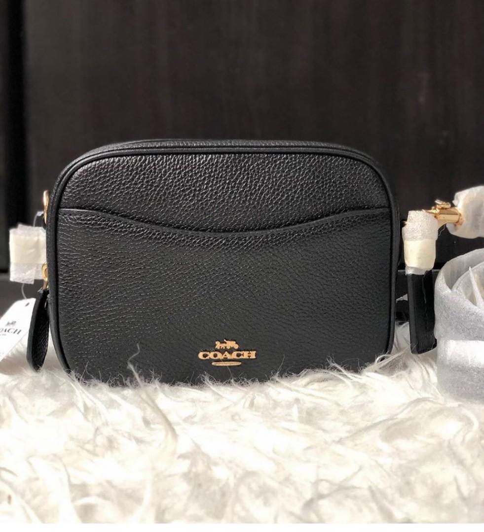 New with tag, coach camera bag mini original 100% sz 16cm db ori (butik collection)
