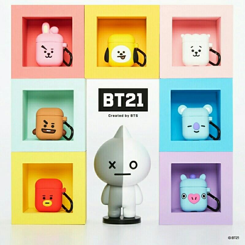 [PREORDER] BTS BT21 Character Airpod Case Protector