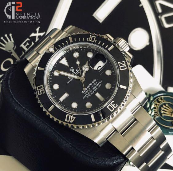 Rolex Black Submariner with Date 116610LN - Unworn Complete Set with Box and Papers from overseas AD