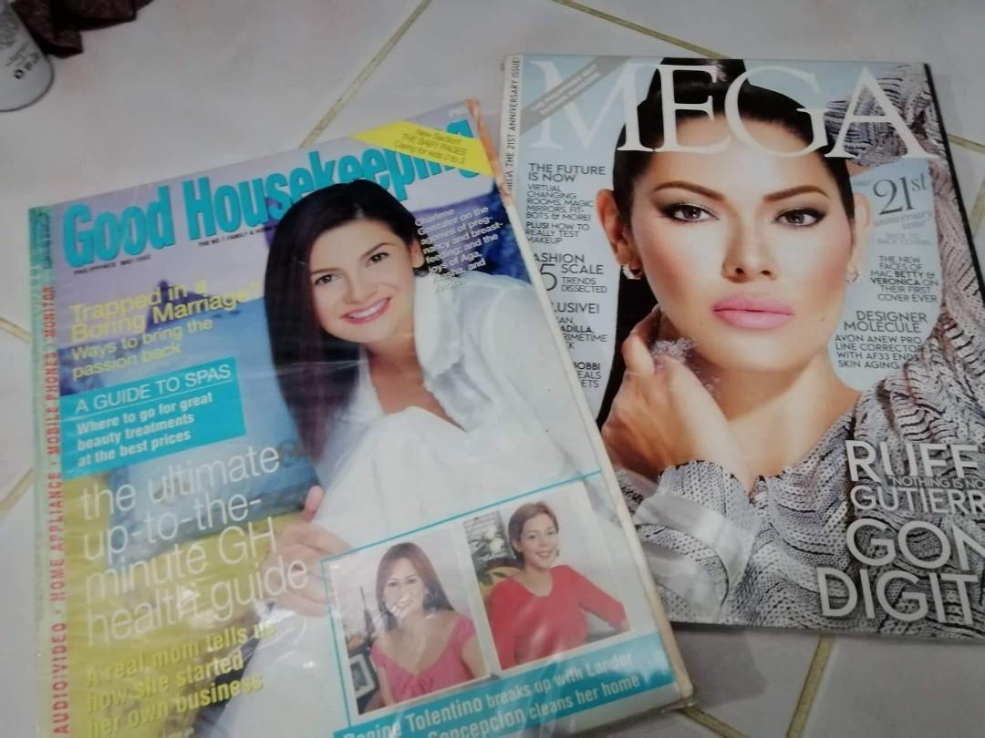 Ruffa gutierez mega magazine / charlene gonzales  good housing magazine