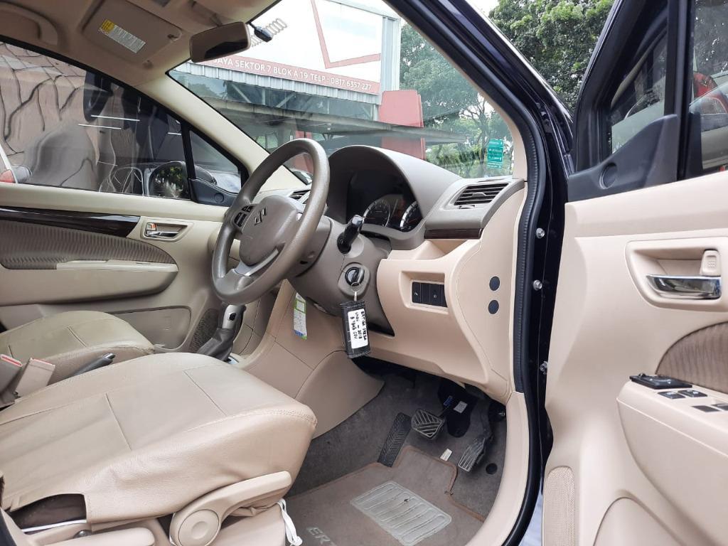 Suzuki Ertiga 1.5 DREZA AT 2016 Ungu Dp 16,9 Jt, No Pol Ganjil