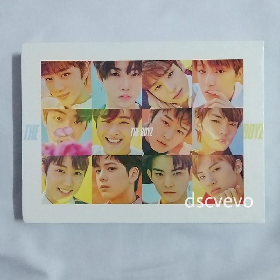 The Boyz 1st Mini Album (Younghoon pc, Younghoon Juyeon unit pc)