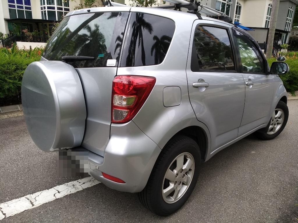 TOYOTA RUSH SUV FOR RENT - IDEAL FOR GRAB, GOJEK, PHV DRIVING, EXCELLENT CONDITION, GREAT SOUND SYSTEM
