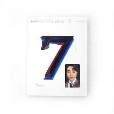 [PO] - BTS MAP OF THE SOUL 7 ALBUM + OFFICIAL PHOTOCARD + FOLDED POSTER