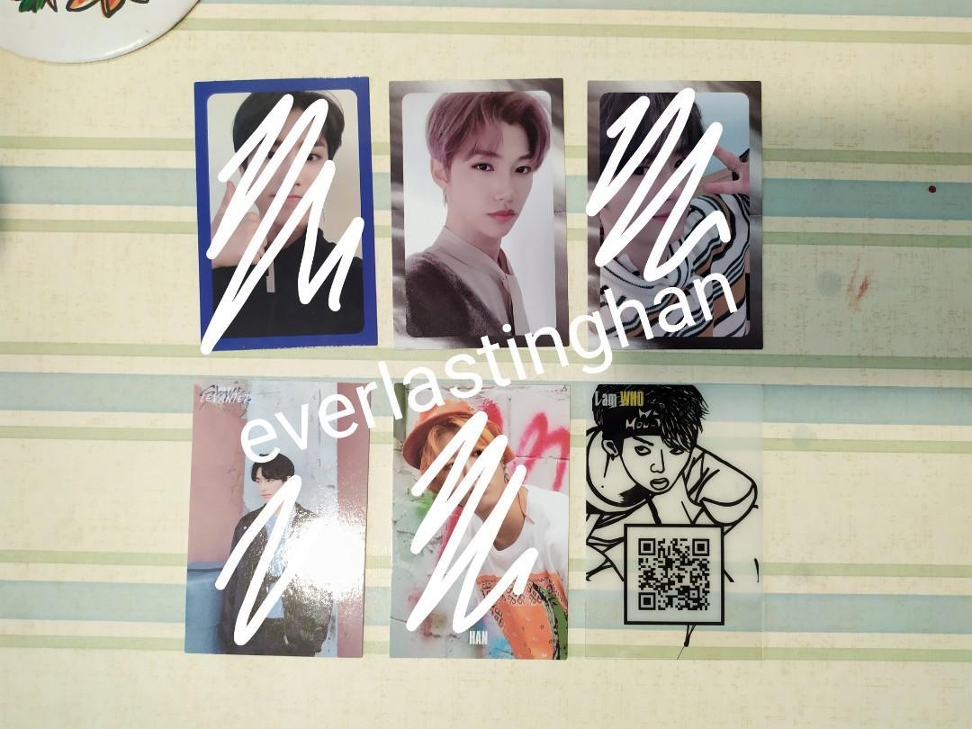 [WTS] Stray Kids Felix Levanter PC, Hyunjin I Am WHO PC