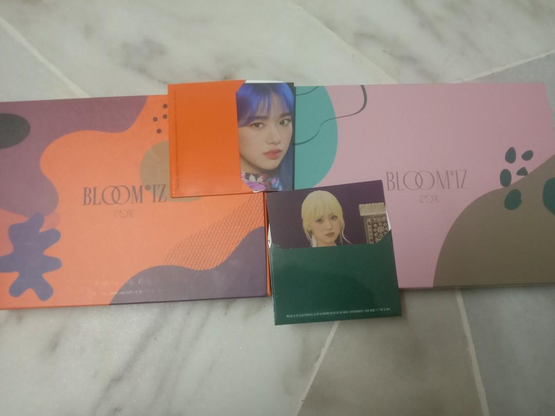 (WTS)IZ*ONE BLOOM*IZ ALBUM PHOTOBOOK WITH MINI CARD