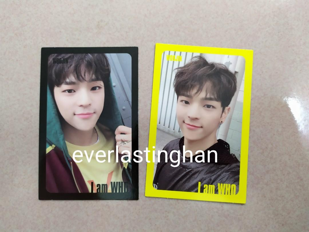 [WTT ONLY] Stray Kids I Am WHO PC Woojin to Jisung/Changbin