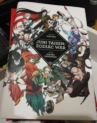Juni Taisen: Zodiac War Story by NisiOisiN Art by Hikaru Nakamura [Hardcover]