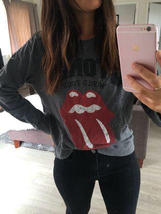 Vintage Rolling Stones sweater