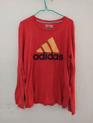 Adidas Orange Pullover