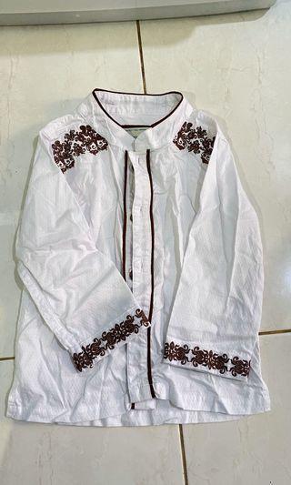 Baju koko anak Contempo 2t