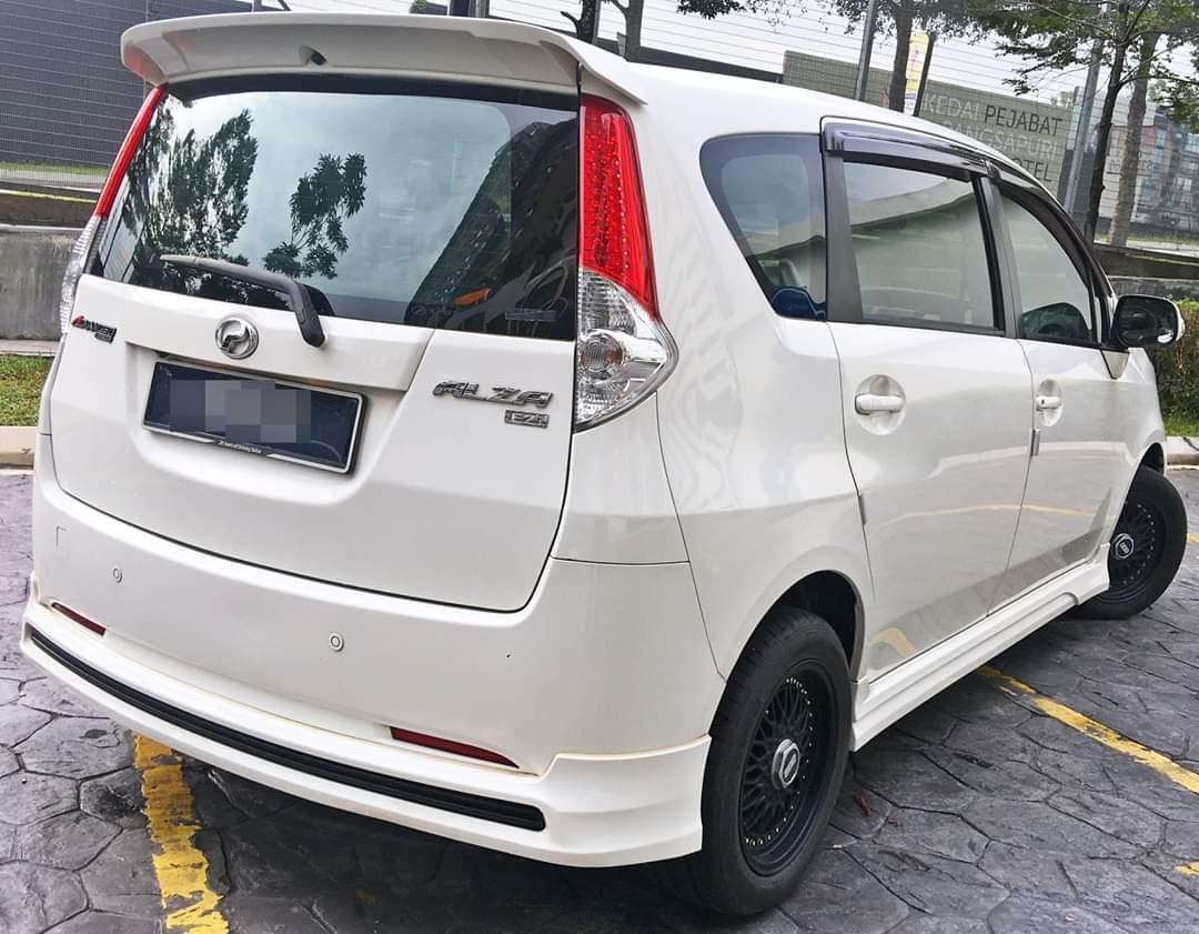 2013 Perodua Alza 1.5 (A) dep 3990 LOAN KEDAI KERETA