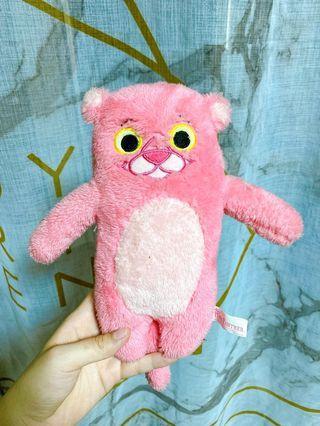 粉紅熊娃娃