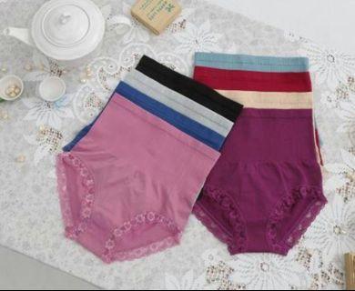 激塑蠶絲內褲