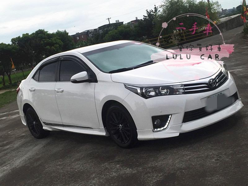 豐田 Altis 2013 1.8 白色