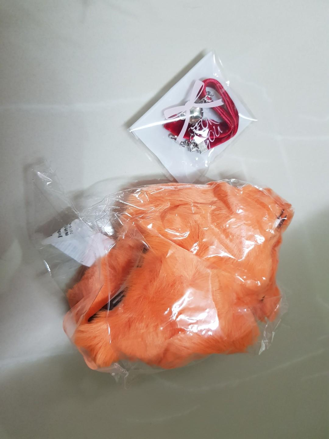 Firefox Ahri League of Legends LoL Cosplay Costume + Wig + Tails + Shoe Covers + Ears