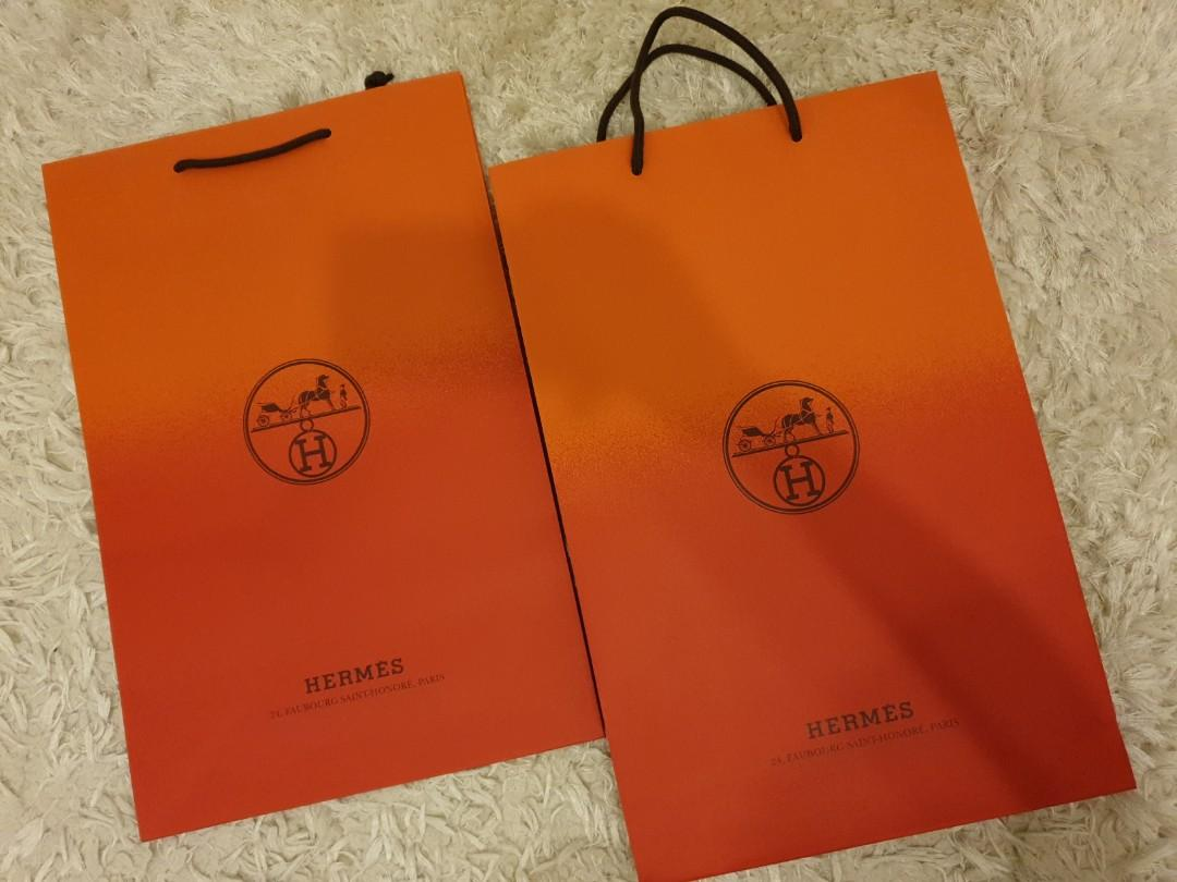 Hermes brand new 2 tone paperbag 2 tone paper bag authentic brand new two shade tone rouge lipstick launch red orange gradient