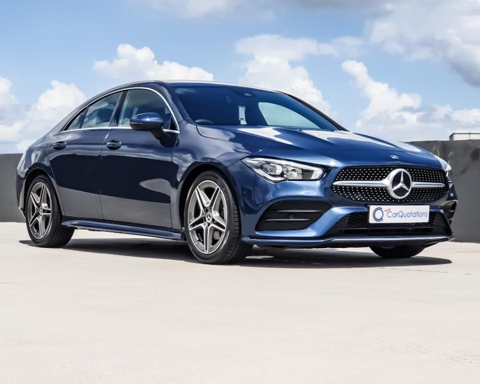 (Brand New) Mercedes-Benz CLA-Class CLA180 AMG (A)