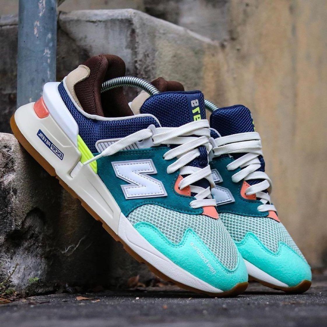 new balance 997 sport blue