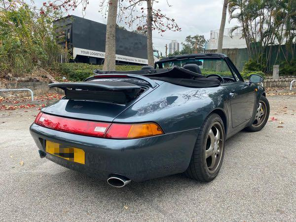 Porsche 993 911 Carrera Cabriolet Auto