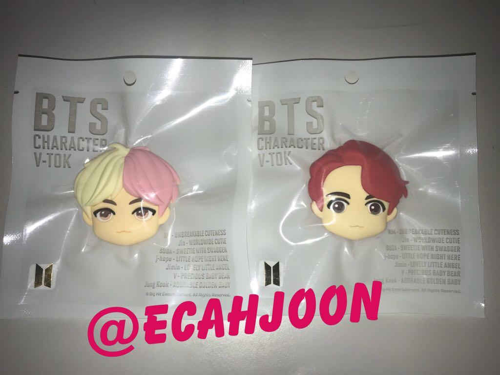 [READY STOCK] BTS CHARACTER OFFICIAL V-TOK (GRIPTOK)