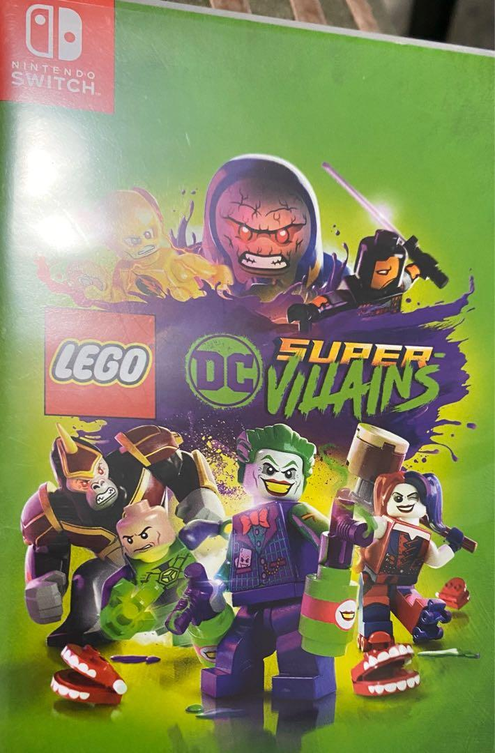 Selling like new LEGO DC Supervillains for Nintendo Switch