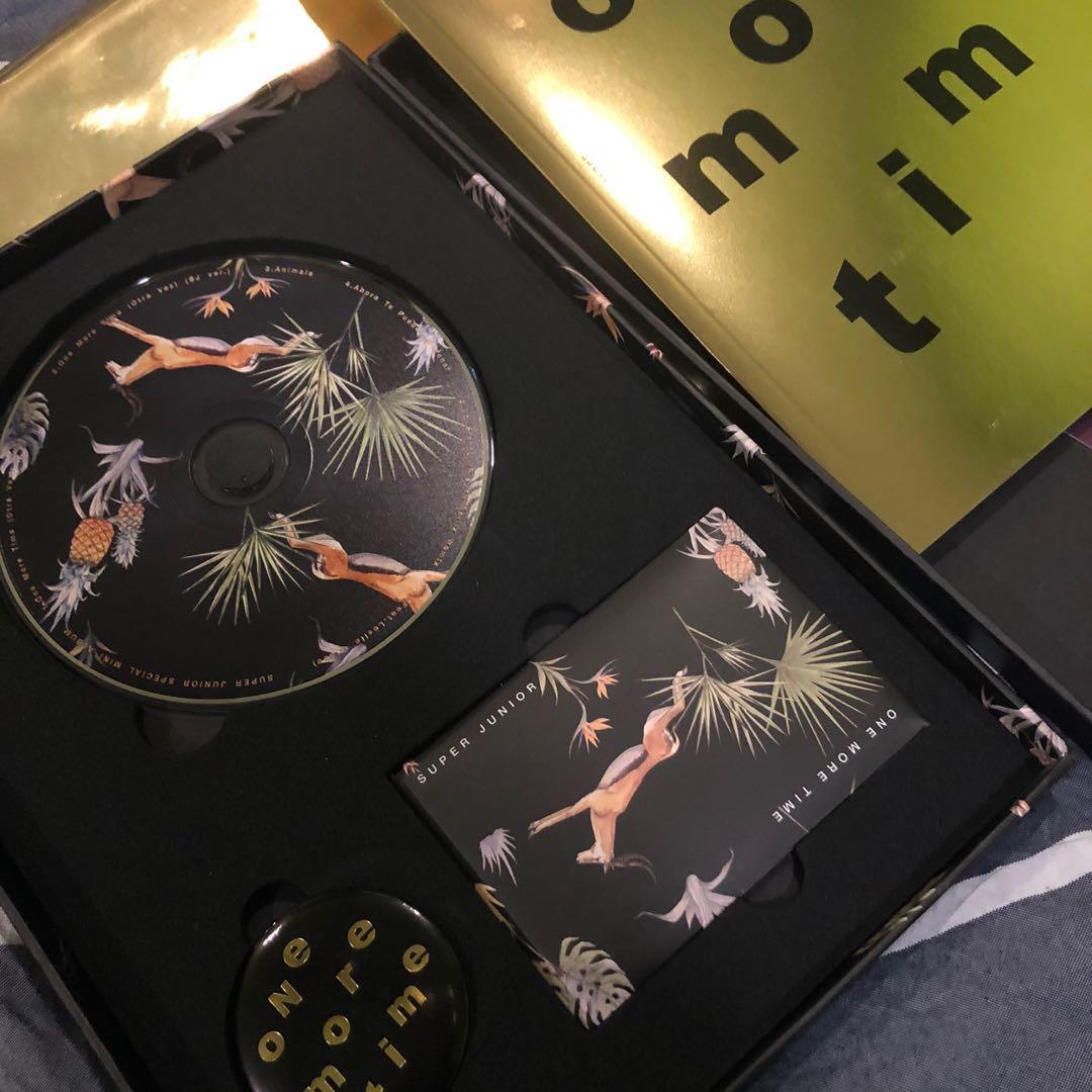 Super Junior - Special Mini Album [One More Time] (Special Edition)