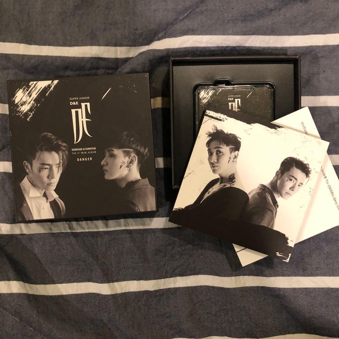 Super Junior D&E - Mini Album Vol.3 [Danger] (Kihno Album)