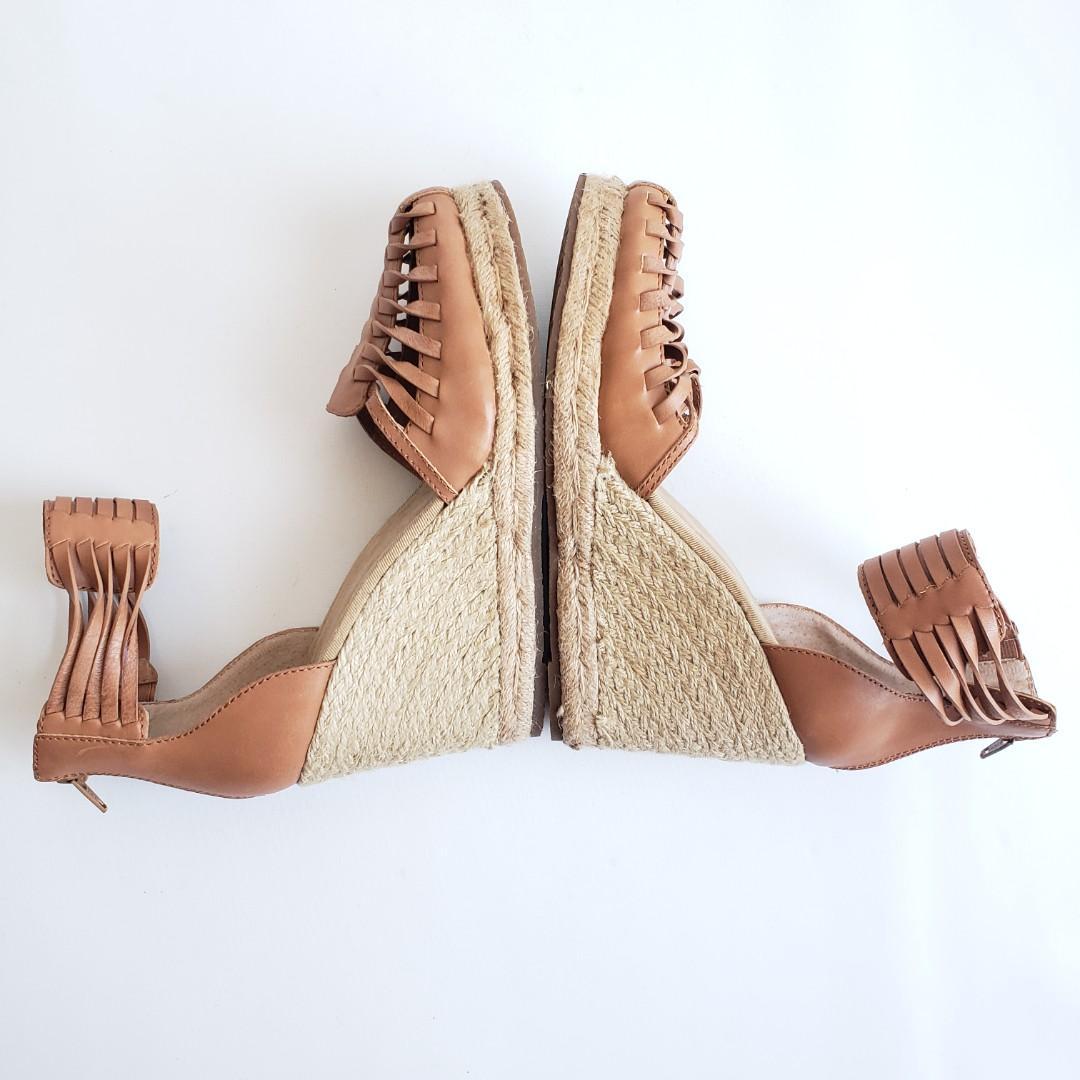 Tommy Bahama Rakona Woven Platform Espadrille Wedge shoes 9.5