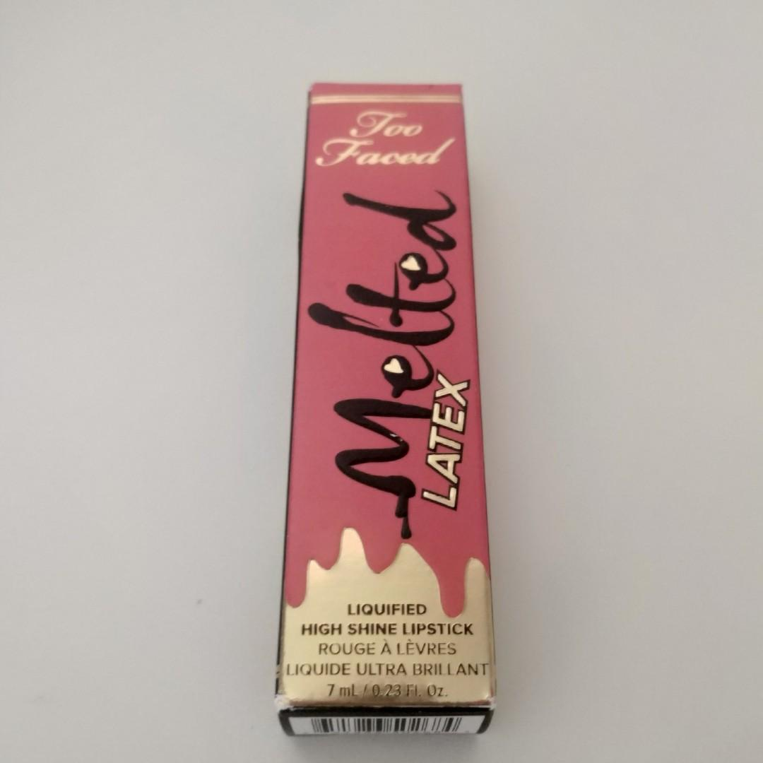 Too Faced Melted Latex Liquified High Shine Lipstick #Rated R