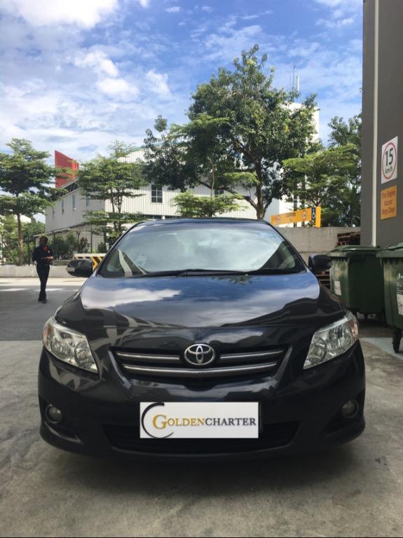 Toyota Altis For Rent ! Gojek - Grab - PHV - Personal