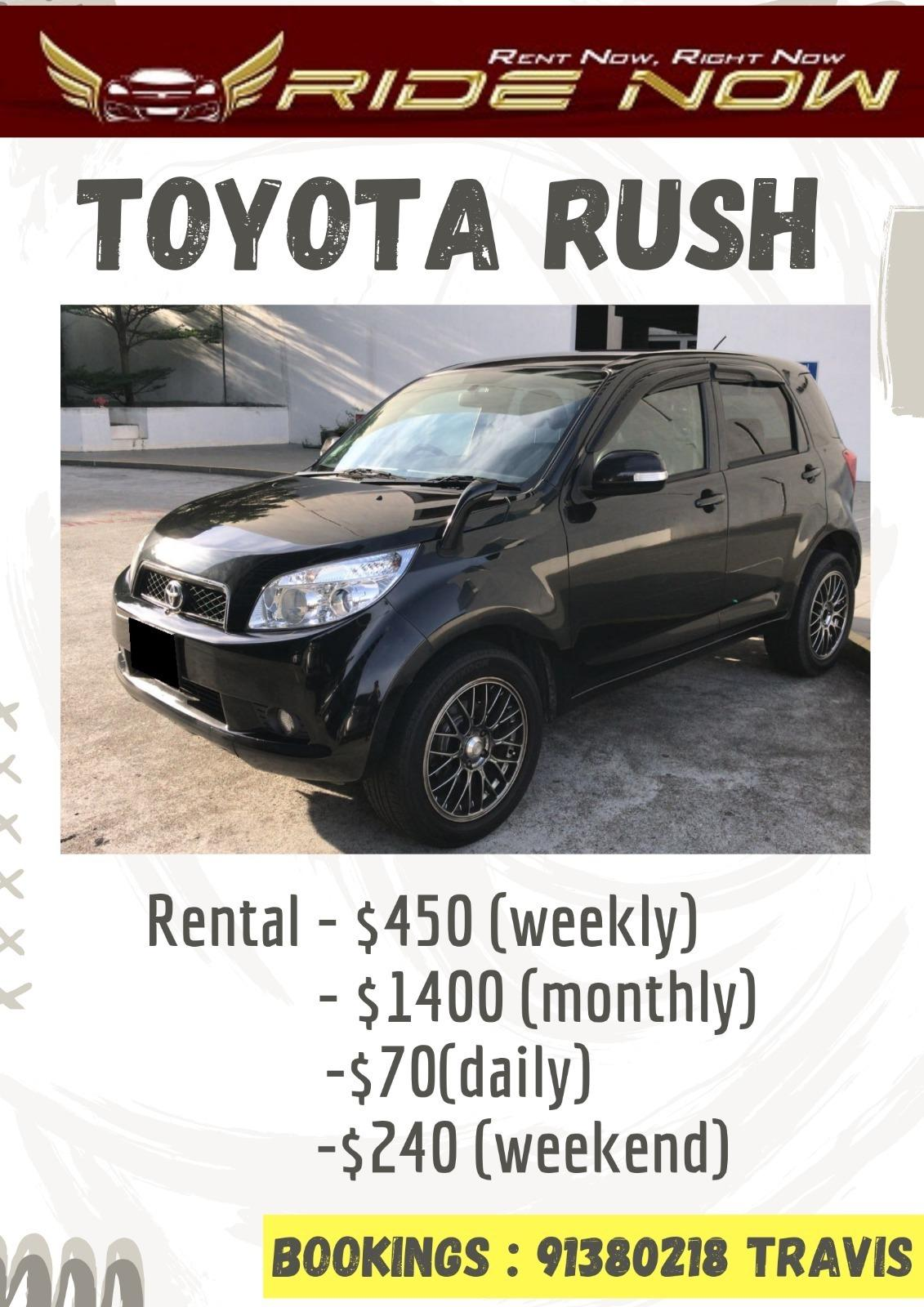 Toyota Rush 1.5A SUV Compact SUV good for daily usage!