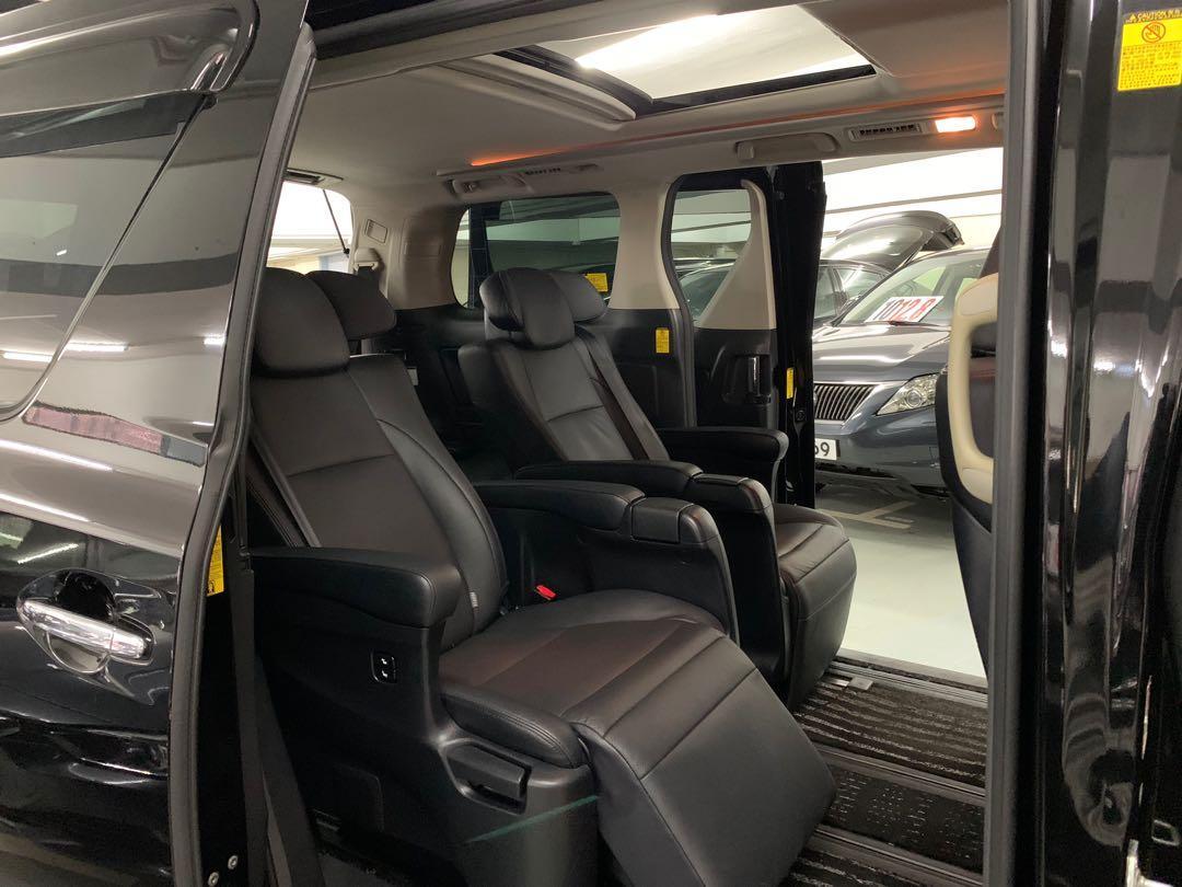 Toyota Vellfire 2.4 Hybrid ZRG Auto