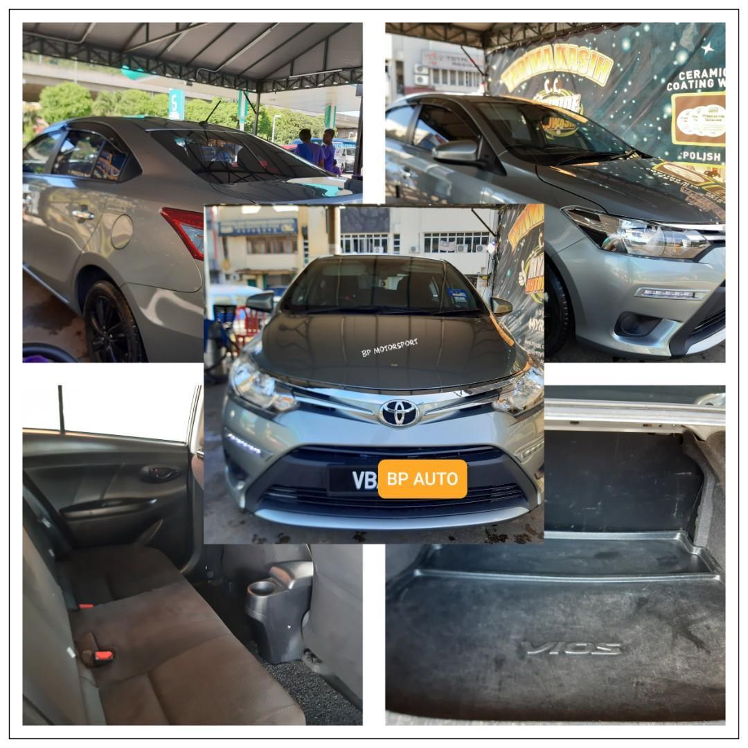 Toyota Vios 1.5 5 Seater Bonnet Luas Sewa Rental Special Price