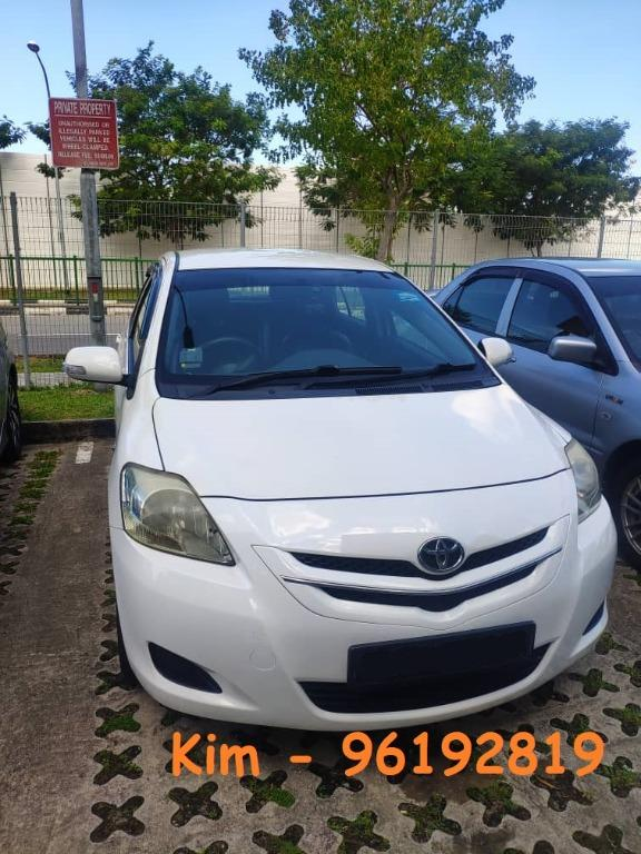 Weekly Contract for Toyota Wish Vios Honda Fit Stream