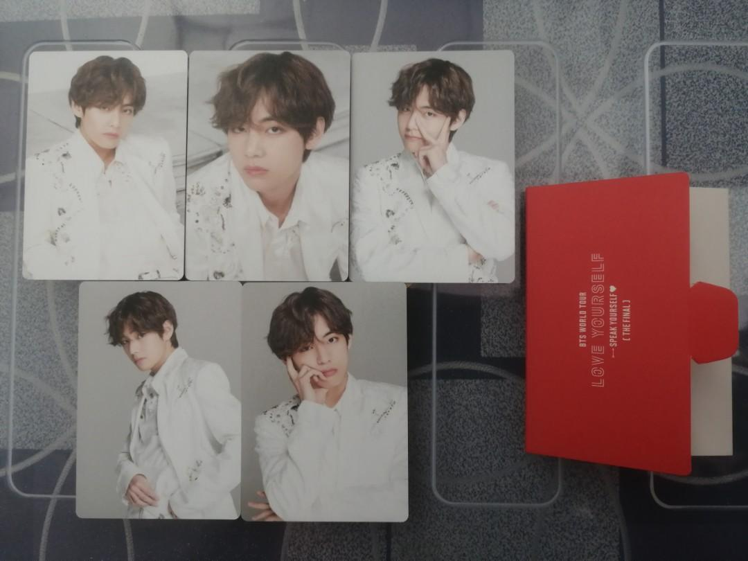 [WTS] BTS Speak Yourself The Final in Seoul Official Mini Photocards (Members Set)