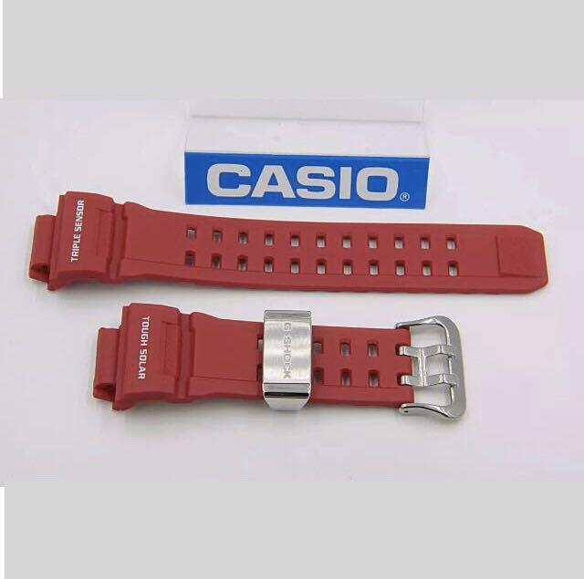 100% Authentic new sealed Casio G-Shock Men in Rescue Red Rangeman GW-9400RD-4 Watch Band strap limited edition