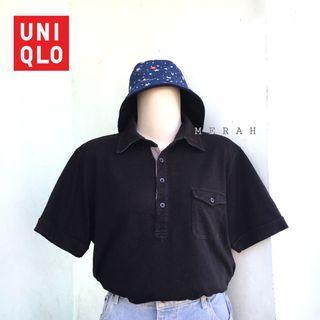 UNIQLO POLO SHORTSLEEVE BLACK