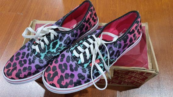Vans Authentic Lo Pro Leopard Ombre