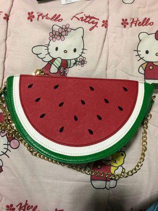 Watermelon sling bag