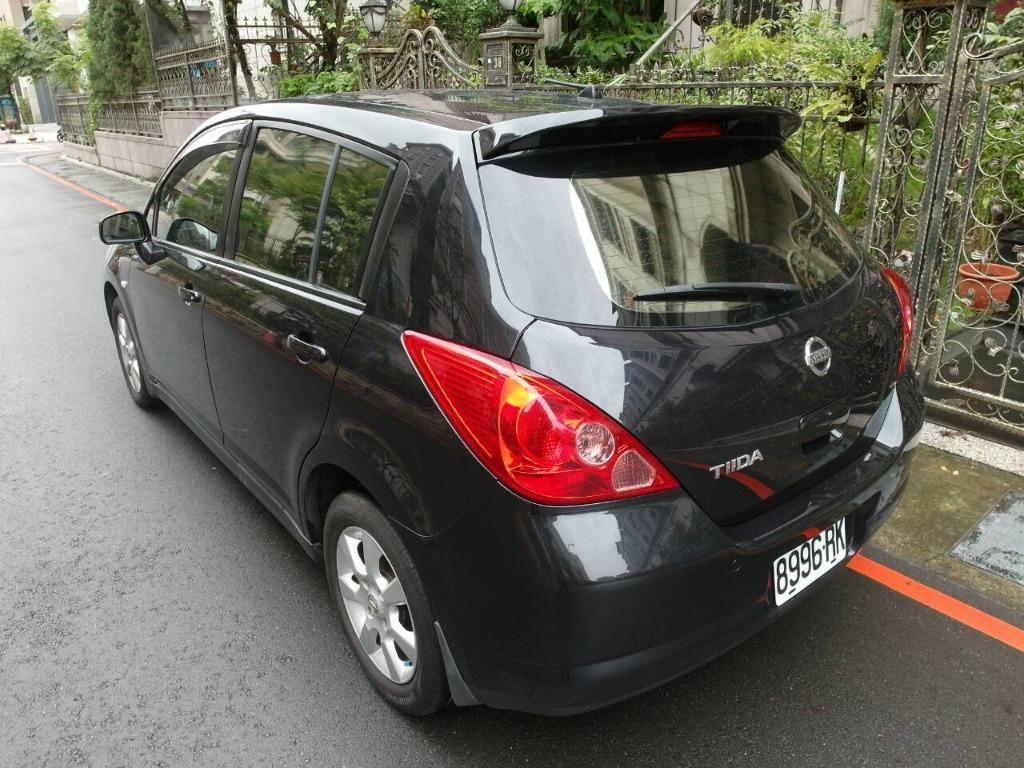 2007/日產/TIIDA/1.8cc/黑