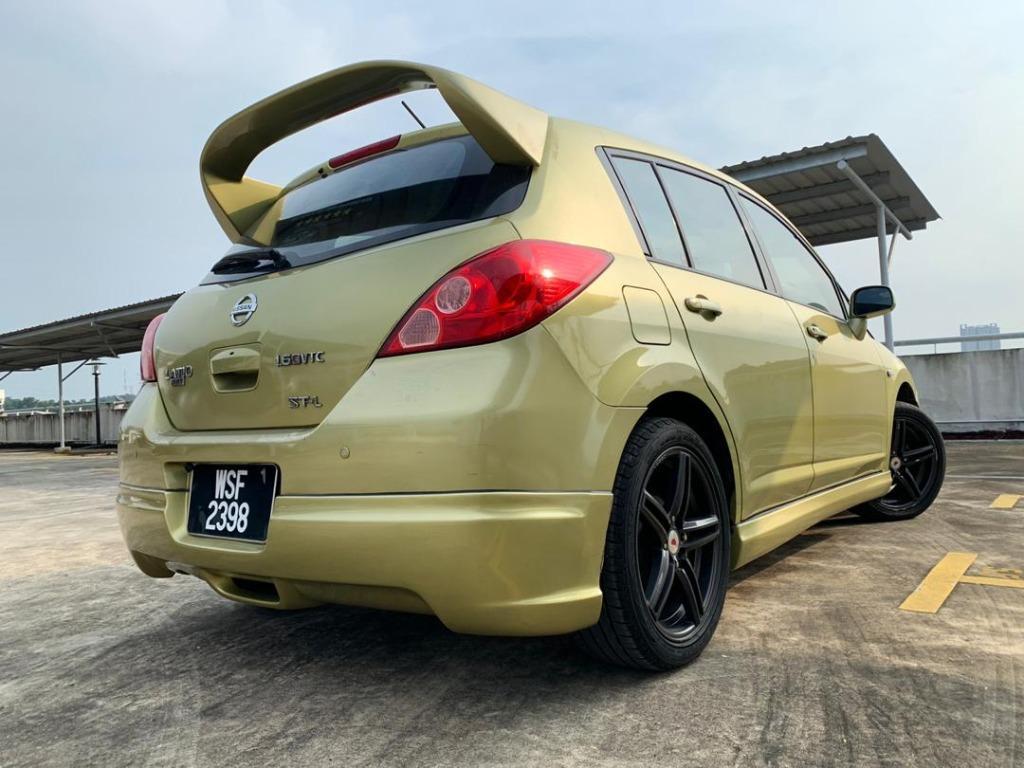 2009 Nissan LATIO 1.6 SPORT ST-L (A) B / L Loan Kedai DP 1-3 K