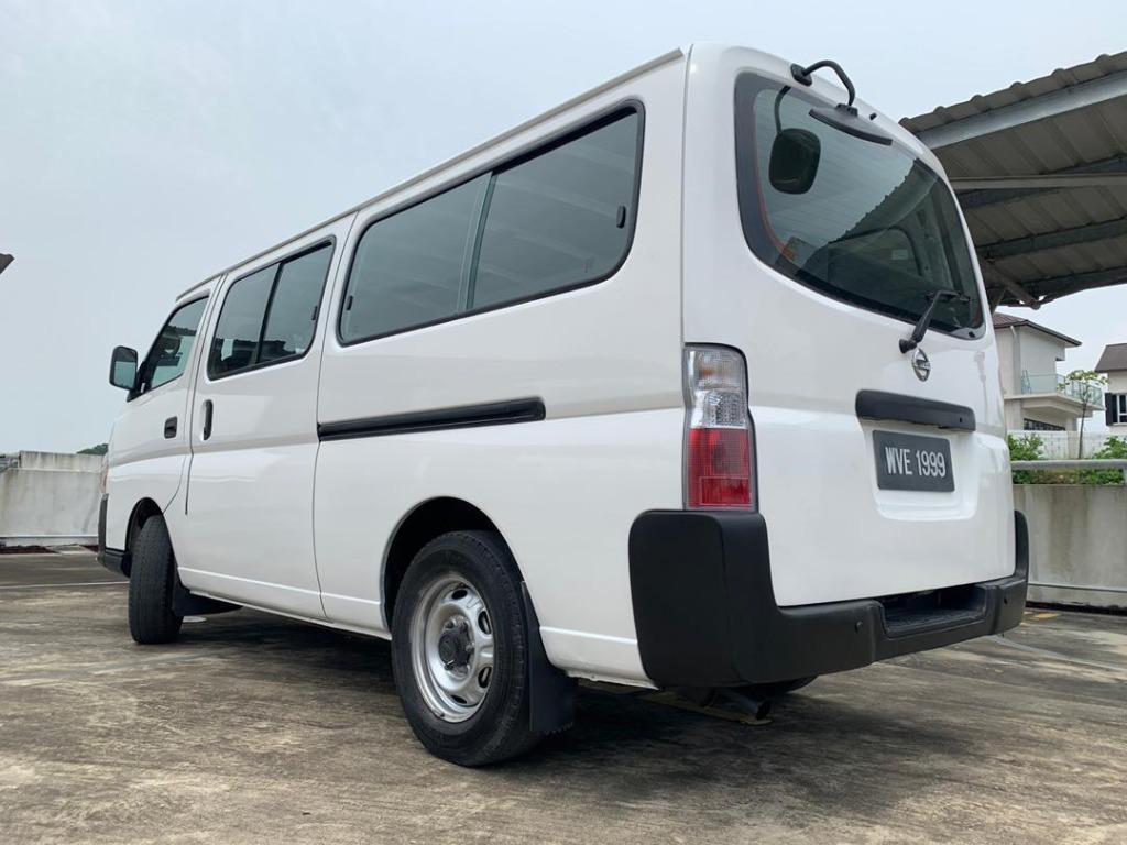 2010 Nissan URVAN 3.0 MICROBUS (M) B / L Loan Kedai DP 3-5 K