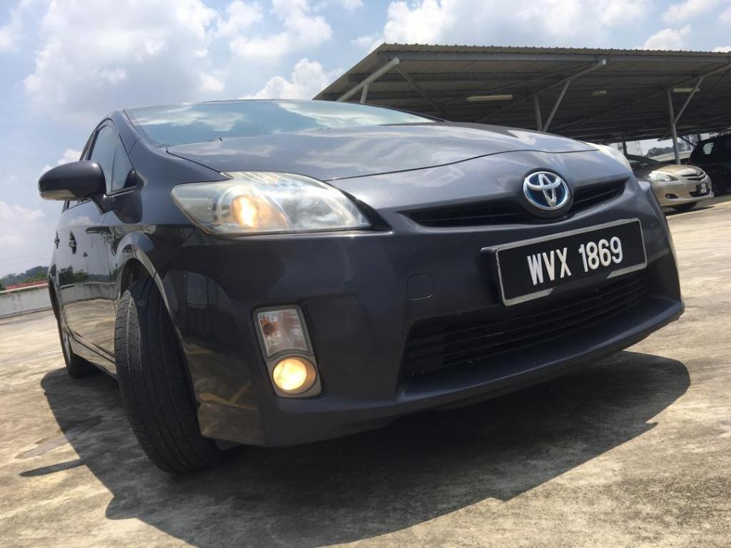 2011 Toyota PRIUS 1.8 (HYBRID) (A) B / L Loan Kedai DP 3-5 K