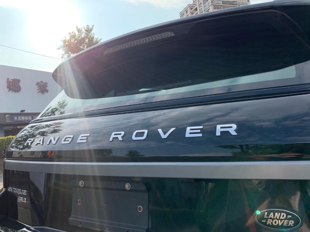 地表最強豪華越野車 RangeRover EVOQUE 輕鬆入主