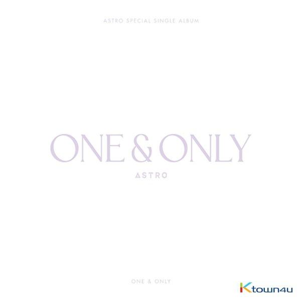 ASTRO - Special Single Album [ONE&ONLY] (Limited Edition)