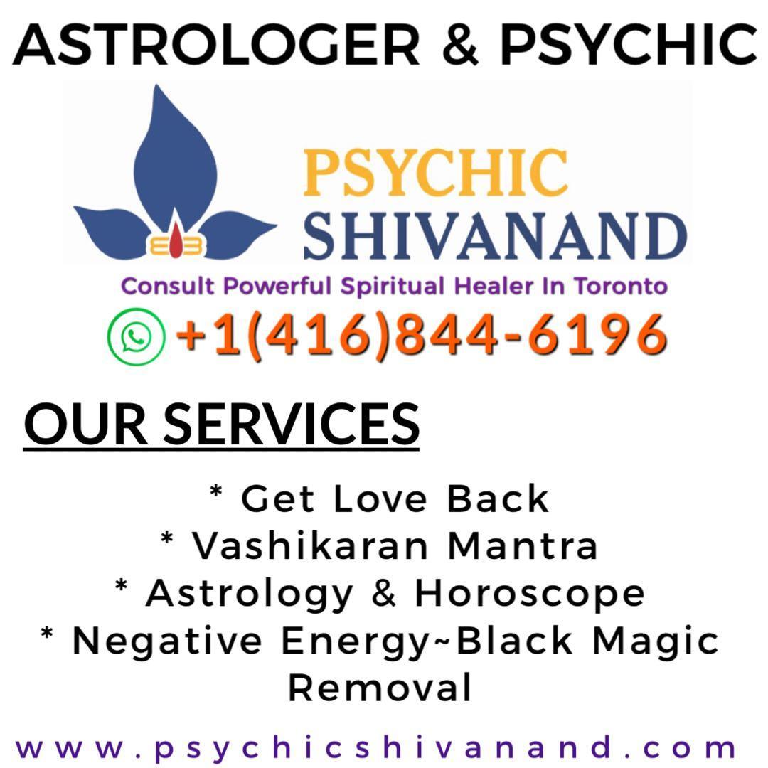 ASTROLOGER IN TORONTO | PSYCHIC READINGS |FORTUNE TELLER | SPIRITUAL HEALER
