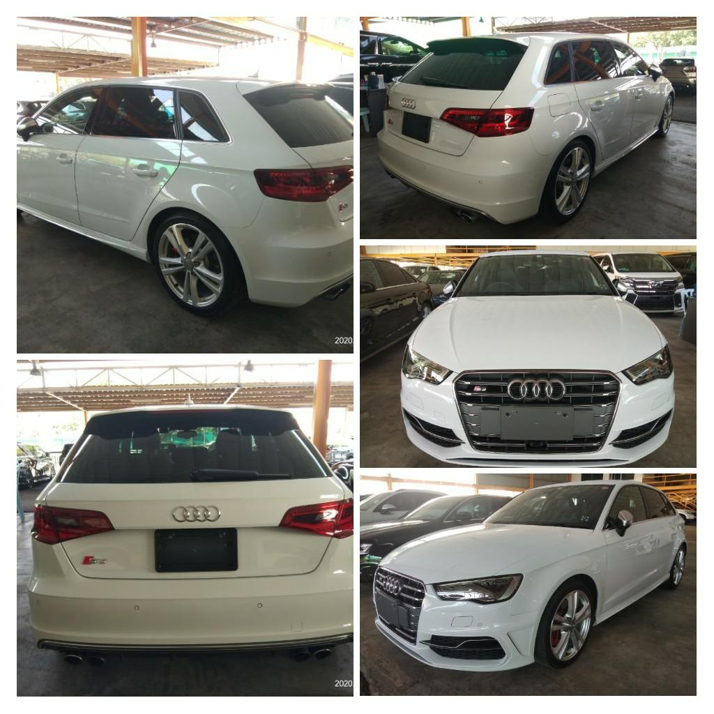AUDI S3 QUATTRO TFSI 2.0T 2015RECORD FOUM🇯🇵JAPAN ⭐The company includes some⭐~include👍👍👍 ON THE ROAD~PRICE  RM218,888.88👍👍👍🗣📱0⃣1⃣2⃣2⃣3⃣6⃣7⃣2⃣7⃣2⃣☺🙏